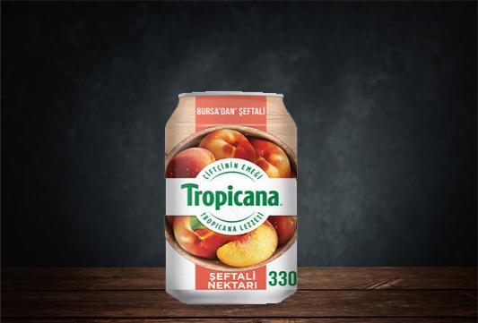 Tropicana Şeftali Nektarı Kutu 330 ml