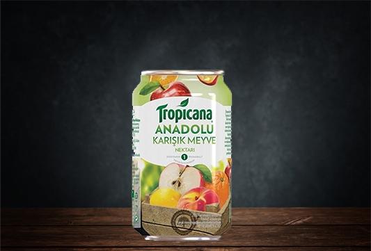 Tropicana Karişik Nektarı Kutu 330 ml